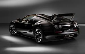 Фотографии BUGATTI Черных Карбоновый Родстер Veyron, Grand Sport, Vitesse, Jean Bugatti, 2013 машина