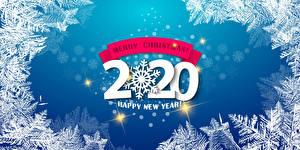 Обои Рождество Слова 2020 Английская Снежинка
