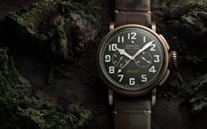 Фото Вблизи Часы Карманные часы Циферблат Zenith Pilot Type 20