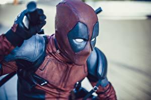 Фото Deadpool герой Косплей
