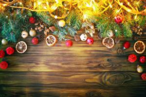 Фотография Украшения Рождество Доски Ветвь Электрическая гирлянда Шаблон поздравительной открытки
