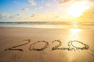 Фотография Море Пляжа 2020 Песка