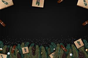 Фотография Векторная графика Новый год Корица Шаблон поздравительной открытки Ветвь Шишка Подарков