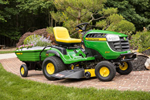 Обои Сельскохозяйственная техника 2018-20 John Deere E130