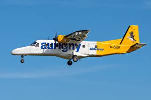 Обои Самолеты Сбоку Летит Dornier Do 228, Aurigny Air Services