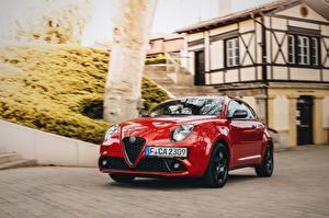 Картинки Alfa Romeo Красная Металлик Mito Veloce Pack 955 автомобиль