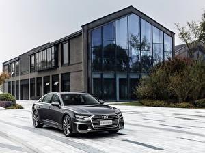 Фотография Audi Серая Металлик 2019-20 A6L 55 TFSI quattro S line машины