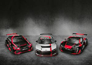 Картинка Ауди Стайлинг Трое 3 RS3 LMS R8 LMS автомобиль