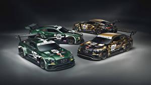Обои для рабочего стола Бентли Стайлинг 2018-20 Continental GT3 авто