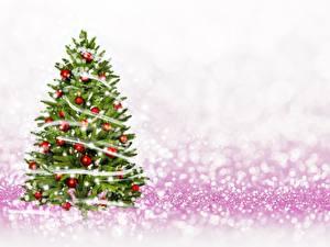 Картинки Рождество Новогодняя ёлка Шар