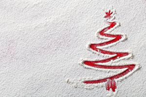 Картинка Новый год Мука Снега Елка