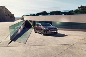 Обои Форд Металлик Коричневая Focus, Vignale, Worldwide Автомобили