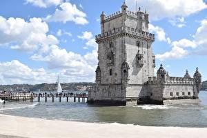 Фотография Португалия Мосты Башня Belém Tower, Lisbon
