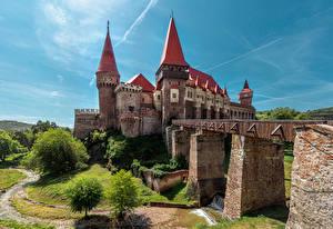 Фотография Румыния Замок Мосты Corvin Castle