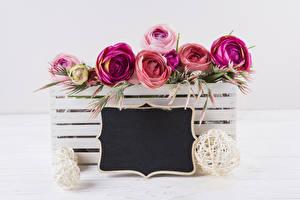 Фотографии Роза Шаблон поздравительной открытки цветок