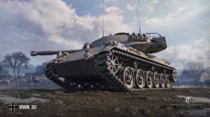Фотография Танк World of Tanks Компьютерная игра HWK 30