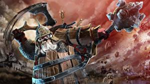 Фото DOTA 2 Воины Пудж С топором Arms of the Bogatyr компьютерная игра