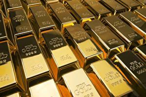 Картинка Золото Монеты Слитки