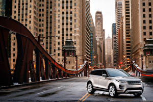 Фото Land Rover Кроссовер Серебряный 2019 Evoque P300 S R-Dynamic Worldwide машины