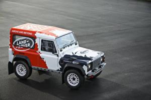 Фотографии Land Rover Тюнинг Внедорожник 2014-20 Bowler Defender Challenge Car авто