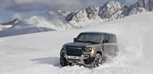 Картинка Range Rover Зимние Внедорожник 2020 Defender 110 P400 X Worldwide авто