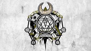 Фотография Отряд самоубийц 2016 Логотип эмблема Тату Enchantress кино