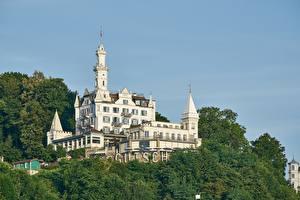 Фото Швейцария Замок Гостиница Gütsch Gutch Hotel, Lucerne