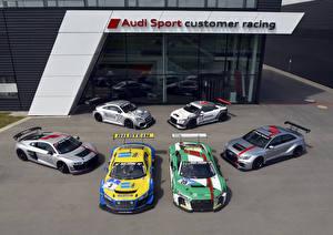 Фотография Audi Много Стайлинг машины
