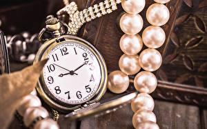 Фото Часы Карманные часы Жемчуг