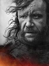 Картинка Игра престолов (телесериал) Мужчина Вблизи Лица Sandor Clegane (Dog) Знаменитости
