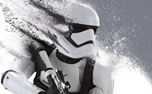 Обои Звездные войны Звёздные войны: Пробуждение Силы Воины Клоны солдаты Солдат Stormtrooper кино