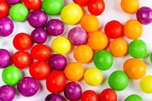 Фотография Драже Конфеты Разноцветные Пища