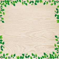 Картинки Листва Из дерева Шаблон поздравительной открытки