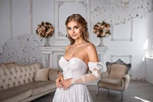 Картинка Платье Рука Невесты Причёска Красивая Взгляд Igor Kondukov