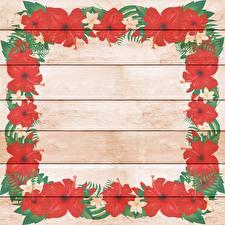 Картинка Лилия Рисованные Доски Шаблон поздравительной открытки Цветы