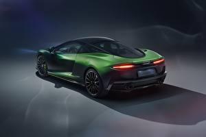 Фото McLaren Зеленых Металлик MSO, 2020, GT, Verdant Theme