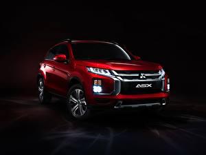 Обои Мицубиси Красная Металлик CUV Фар ASX, 2019 авто
