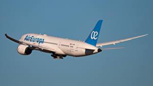 Фотографии Самолеты Пассажирские Самолеты Боинг B-787-8, Dreamliner, Air Europa