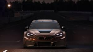 Обои Сиат Спереди Коричневые Карбоновые Фары Leon, Competition, Cupra, 2020 Автомобили