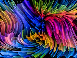 Фотография Текстура Абстракционизм Разноцветные
