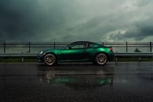 Фото Toyota Сбоку Зеленые 86 Limited Hakone Edition машина