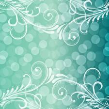 Картинка Орнамент Текстура Векторная графика