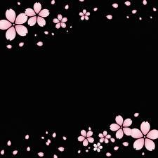 Фото Векторная графика На черном фоне Розовая Шаблон поздравительной открытки цветок