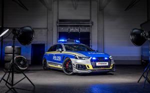 Обои Ауди Стайлинг Полицейский 2019-20 RS 4-R Avant Tune it! Safe! Concept авто