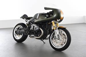 Картинка BMW - Мотоциклы Черный 2016-20 AC Schnitzer R nineT Full Race