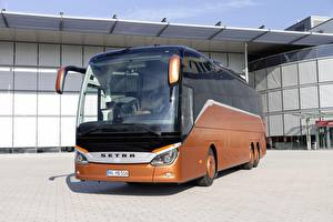 Фото Автобус Коричневые 2018, Setra, S 516 HD авто