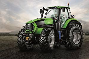 Картинка Зеленые Трактора Deutz-Fahr 9340