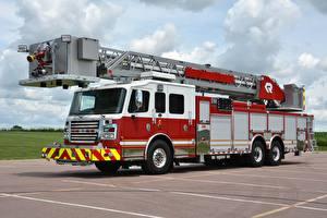 Фотографии Пожарный автомобиль Rosenbauer, Cobra Platforms авто