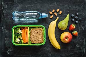 Обои Фрукты Орехи Воде Овощи Ягоды Здоровое питание