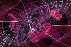Фотография Интернет Векторная графика Абстракции двоичный код Компьютеры